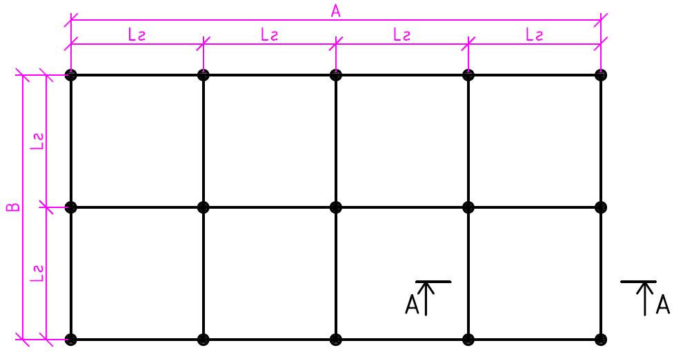 Заземляющее устройство (вид сверху)